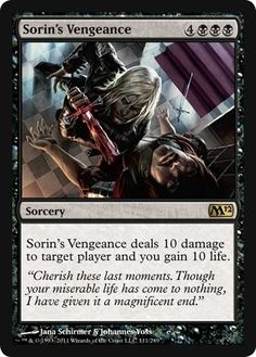 Magic: the Gathering - Sorin's Vengeance - Magic 2012 $1.07