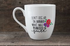 Christian Coffee Mug ne creuser vers le par MorningSunshineShop