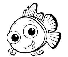 Resultado de imagen para peces animados disney