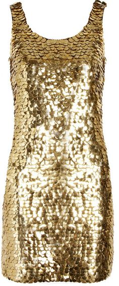 MOSCHINO Paillette embellished Crepe Mini Dress