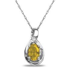 Jet NissoniJewelry presents - Diamond Accent Citrine Pendant in 10k White Gold    Model Number:P7375A-W077CIT    https://jet.com/product/Diamond-Accent-Citrine-Pendant-in-10k-White-Gold/8ef5d3abe62a4830b5ef1f1f415bd7a7