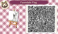 "civahcrossing: ""Created a new flag for Fawndale ♥ """
