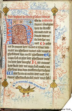 Book of Hours, MS M.349 fol. 127r - Images from Medieval and Renaissance Manuscripts - The Morgan Library & Museum