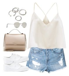 """""""Untitled#4563"""" by fashionnfacts ❤ liked on Polyvore featuring Ström, NIKE, Givenchy and Forever 21"""
