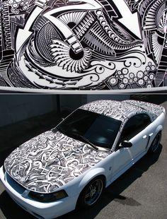 Arts Cars Sharpie   Criatives   Blog Design, Inspirações, Tutoriais, Web Design