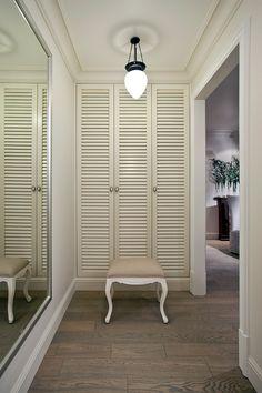 Шкаф двери гармошка