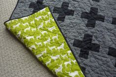Baby Boy Plus Quilt by mermamy, via Flickr