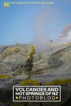 [Photos] Volcanoes and Hot Springs of Rotorua, New Zealand - Castaway with Crystal