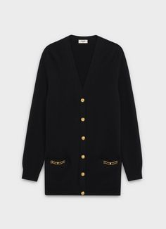Browse the latest CELINE women's knitwear collections online Celine, Suit Fashion, Fashion Outfits, Korean Fashion Work, Girl Outfits, Casual Outfits, Long Cardigan, Aesthetic Clothes, Pretty Outfits