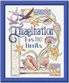 Inspiring Imagination, counted cross-stitch