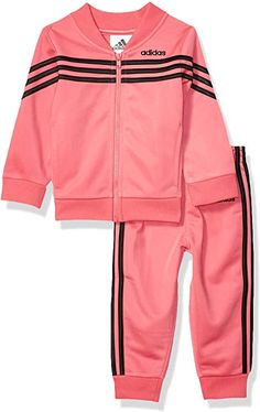 Amazon.com: adidas Baby Girls Tricot Jacket and Jogger Pant Set: Clothing Jogger Pants, Joggers, Baby Girl Jackets, Adidas Baby, Cute Baby Clothes, Girl Nursery, Adidas Jacket, Cute Babies, Winter Springs