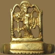 LATE ROMAN RING  Roman Empire, 3rd - 4th century