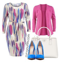 5 spring outfits with a plus size pencil dress - plus size fashion for women