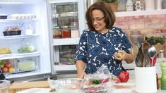 We challenged Christine Cushing to whip up five dishes in one hour Chinese Recipes, Greek Recipes, Chinese Food, Marilyn Denis Show Recipes, Christine Cushing, Dessert Food, Casseroles, Food To Make, Pantry