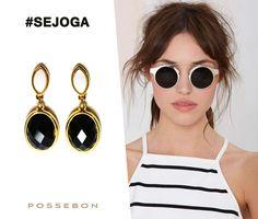 Siga as tendências de moda mais desejadas com o melhor, Se joga nas joias Possebon, Anéis, brincos, pulseiras, tudo para completar seu look.  #ModaFeminina #JoiasPedrasBrasileiras #JoiasBanhadasOuro #JoiasPossebon #Possebon #AdoroPresentes #BrincosPedrasNaturais