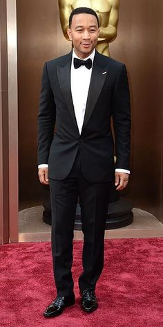 pintrest: @Loveamarie88 >> John Legend #Oscars2014 #Oscars #STYLAMERICAN
