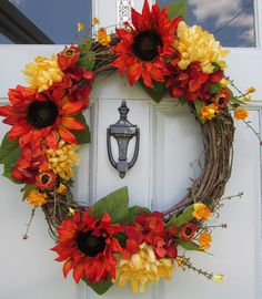 Fall Wreath, Autumn Wreath, Thanksgiving Wreath, Harvest Wreath, Seasonal  Wreath, Front Door Wreath, Grapevine Wreath, 22 Inch | Front Door Wreaths,  Door ...