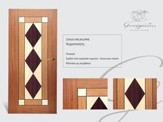 handmade wooden door_code: Melbourne / by Georgiadis furnitures #handmade #wooden #door #marqueterie Melbourne, Doors, Marquetry, Gate