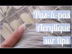 TUTO Acrylique sur TIPS Pas-à-pas | Melissa Easy Nails - YouTube Acrylic Nails At Home, Simple Nails, Easy, Poses, Tips, Barre, Finger Nails, Nail Art, Acrylic Nails