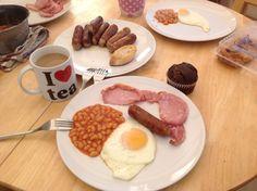 Breakfast in Edinburgh - Scotland