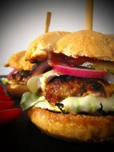Insanity Burger Home Made Jamie Oliver, Make Dog Food, Salmon Burgers, Food Inspiration, Dog Food Recipes, Hamburger, Treats, Homemade, Chicken