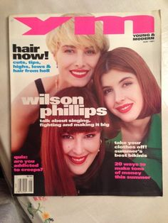 May 1991 cover with Wilson Phillips