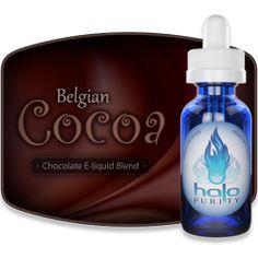 5 star! Belgian Cocoa E-liquid from Halo E Cigs save 5%  http://www.allvapediscounts.com/electronic-cigarette-coupon-codes100.html  #vape #eliquid #ecig