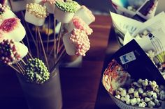 Very nice cake pops that my friend made the other day.
