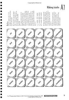 MARK HANCOCK PRONUNCIATION GAMES PDF