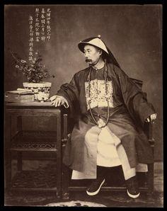 © Liang Shitai (également connu sous le nom Voir Tay), 1878, «Portrait de Li Hongzhang à Tianjin», la Chine est présentée à l'Asie au…