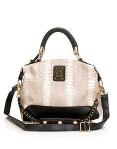 Kardashian Reptile Small Handbag