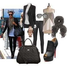 Fashion Kim K. Style  Cute and casual, yet dressy and chic  By Karlee