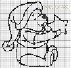 Alpha friendship bracelet pattern added by CutePrince. Graph Crochet, Filet Crochet Charts, Crochet Cross, Knitting Charts, Baby Knitting Patterns, Cross Stitch Pillow, Cross Stitch Charts, Cross Stitch Designs, Cross Stitch Patterns