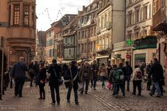 The world through my eyes: Tourists in Colmar