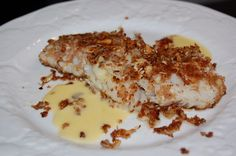 Recipe: Almond Encrusted Fish with (an easy) Beurre Blanc Sauce