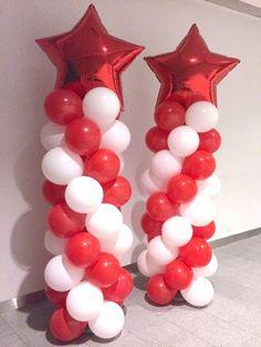 Star Balloon Columns