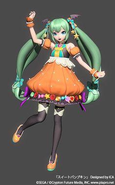 Hatsune Miku Sweet Pumpkin