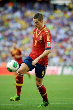 Fernando Torres - Spain Vs Italy - Confederations Cup 2013