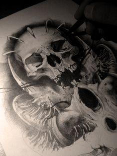 the skull by AndreySkull on DeviantArt