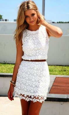 Sabiskirt Daisy Shift Dress    Shelby this would be to cute with cow girl boots ,for the she said yes party!
