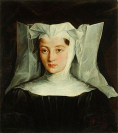 Mlada redovnica, artist unknown, c. 1700's