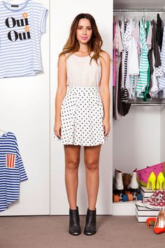 Lilac, Cool Style, Polka Dots, Fancy, Summer Dresses, Chic, Shopping, Fashion, Shabby Chic