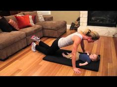▶ Work Out With Baby! - YouTube