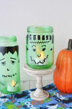 DIY Halloween Lumina