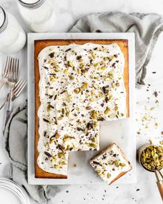 Cannoli Cake with Whipped Ricotta Frosting - Food Duchess