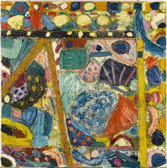 Gillian Ayres 'Spica' 1989-1990 Courtesy of Gillian Ayres. Arts Council Collection, Southbank Centre, London.