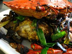 ir Fry Crabs with Ginger and Scallions 姜葱蟹 by The Hong Kong Cookery, via Flickr