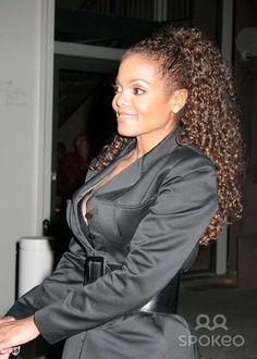 Like her curls Jo Jackson, Jackson Family, Michael Jackson, Janet Jackson Velvet Rope, Janet Jackson Unbreakable, Black Girls, Black Women, Toni Braxton, The Jacksons