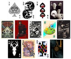 CARDISTRY Playing Cards from Hero Complex Gallery - Playing cards with gorgeous pop culture art. - $16.00