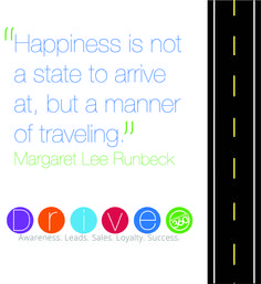 """Happiness is not a state to arrive at, but a manner of traveling."" #MotivationalMonday #Inspiration360"
